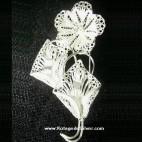 Sweet Gerbera Silver