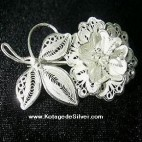 Candytuft Brooch