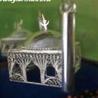 Mini Mosque Silver