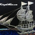 Sailing Ship Silver IV