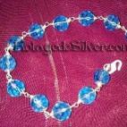 Gelang Kristal Biru