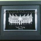 Rumah Minang Silver Frame