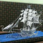 Kapal Layar Silver 4