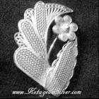 Bros Flower Silver