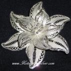 Flower XIII Silver