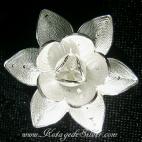 Flower XVII Silver