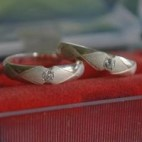Sweet Ring Pair Silver
