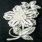 Tolerates Flower Silver