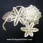 Hepatica Brooch