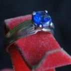Blue Eye Rings