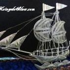 Sailing Ship Silver IV