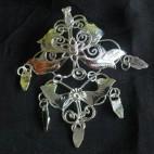 Leaves Silver II