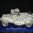 Classic Silver Car