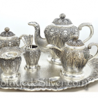 Tea Set IV Silver