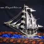 Sailing Ship Silver 2