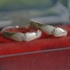 Sweet Ring Pair Silver